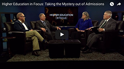 Taking the Mystery Out of Admissions